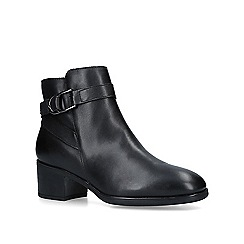 Carvela Comfort - Black 'Ruby' leather ankle boots