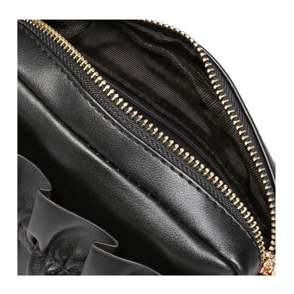 Black 'Kiss' bag clutch KG Kurt Geiger BwfxAU