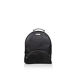 Carvela - Black 'Bassett Nylon Backpack' patterned backpack