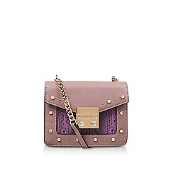 Carvela Pink Boo Mini Box Evening Bag Shoulder