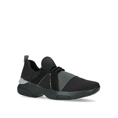 Carvela - Black 'Lennox' low top trainers