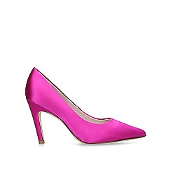 Nine West - Pink 'Quintrell' mid heel court shoes