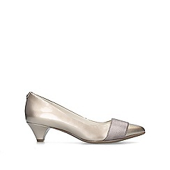4abee2e8318c Anne Klein - Bronze  Xaria  kitten heel court shoes