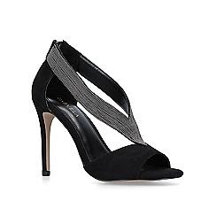 Carvela - Black 'Griffin' embellished high heel sandals