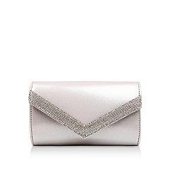 Carvela - Silver 'kink' clutch bag