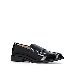 Carvela Comfort - Black 'Clay' patent loafers