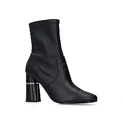 Carvela - Black 'Spoken' leather mid heel boots