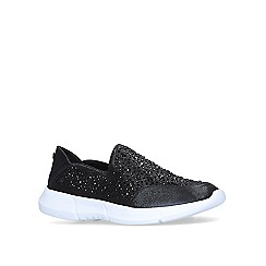 254f4018619 Carvela Comfort - Black  Calya  embellished slip on trainers