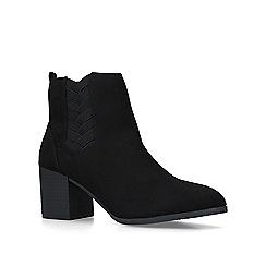 Carvela Comfort - Black 'Tammy' mid heel ankle boots