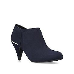 Carvela Comfort - Navy 'Tap' mid heel ankle boots