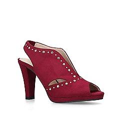 Carvela Comfort - Wine 'Tasmin' high heel sandals