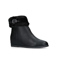 Carvela Comfort - Black 'Toga' flat ankle boots