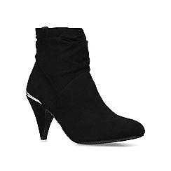 Carvela Comfort - Black 'Tommy' mid heel ankle boots