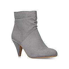 Carvela Comfort - Grey 'Tommy' mid heel ankle boots