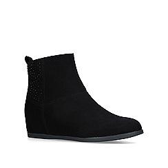 Carvela Comfort - Black 'Trixie' flat ankle boots