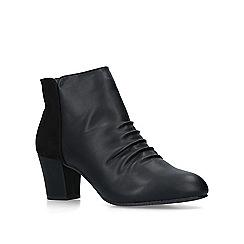 Carvela Comfort - Black 'Tully' mid heel ankle boots