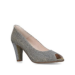 Carvela Comfort - Gold 'Alana' high heel court shoes