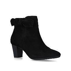 Carvela Comfort - Black 'Rupert' suede block heel ankle boots