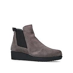 Carvela Comfort - Taupe 'Regina' suede ankle boots