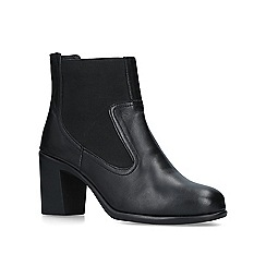 Carvela Comfort - Black 'Roo' leather ankle boots
