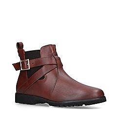 Carvela Comfort - Tan 'Robbie' low heel ankle boots