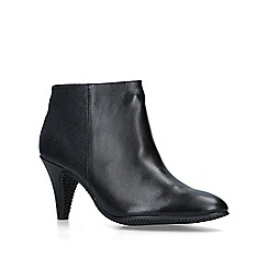 Carvela Comfort - Black 'Robyn' mid heel ankle boots