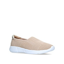 Carvela Comfort - Gold 'Carly 2' slip on trainers