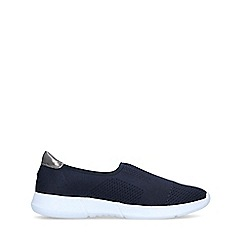 Carvela Comfort - Navy 'Carly 2' Slip On Trainers