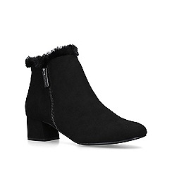 Carvela Comfort - Black 'Tally' low heel ankle boots