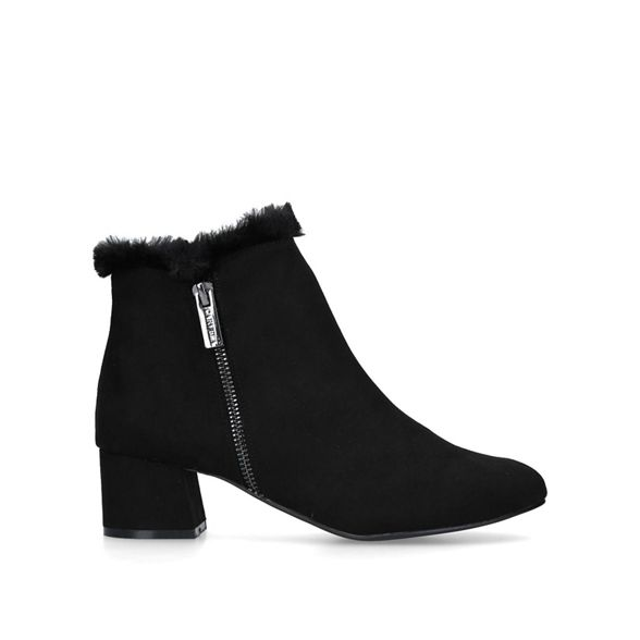 Comfort low 'Tally' heel ankle Carvela Black boots Zq6nH4gdw