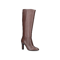 Carvela - Taupe 'Where' leather knee high boots