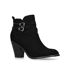 KG Kurt Geiger - Black 'Spike2' block heel ankle boots