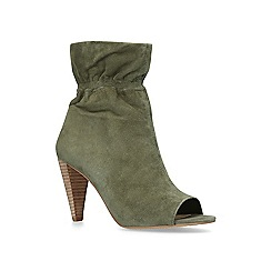 Vince Camuto - Khaki 'Addiena' peep toe boots