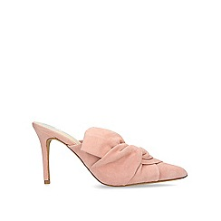 Vince Camuto - Pink 'Amillada' leather heeled mules