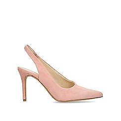 Vince Camuto - Pink 'Ampereta' leather slingback courts