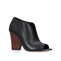 Vince Camuto - Black 'Andrita' peep toe shoe boots