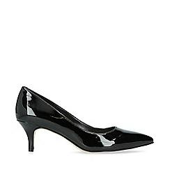 Nine West - Black 'Flagship 55' patent court shoes