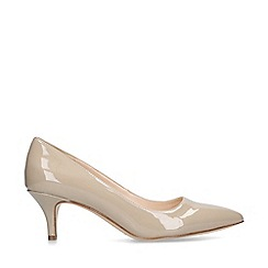 Nine West - Nude 'Flagship 55' patent court heels