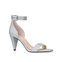 Vince Camuto - Metallic 'Cashane' silver open toe sandals