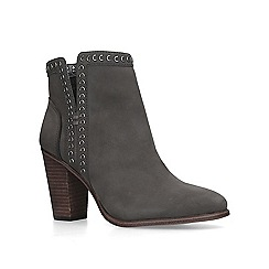Vince Camuto - Grey 'Finchie' studded ankle boots