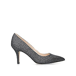 27488e3d8d0 Nine West - Metallic  Flagship 75  grey mid heel court shoes