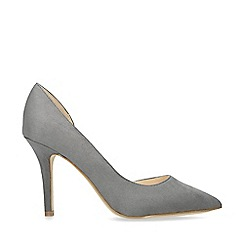 Nine West - Grey 'Just4you' stiletto heeled court shoes