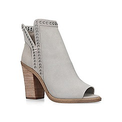Vince Camuto - White 'Kemelly' leather shoe boots