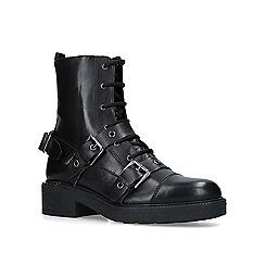 Carvela - Black 'Stalwart' leather biker boots
