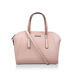 Carvela Pink Reel New Bowler Shape Cross Body Bag
