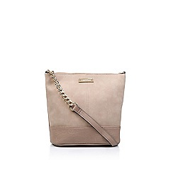 Carvela - Nude 'Rich Zip Top Chn Bckt Bag' shoulder bag