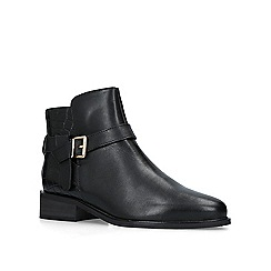 Carvela - Black 'Twist' leather ankle boots