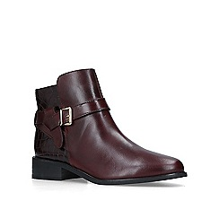 Carvela - Wine 'Twist' Chelsea boots