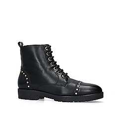 Carvela - Black 'Steady' leather biker boots
