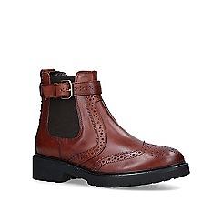 Carvela - Tan 'Stoppitt' leather ankle boots